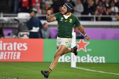 Cheslin Kolbe then danced through England's defence to ensure South Africa won their first. First World Cup, World Cup Final, Dan Cole, Manu Tuilagi, The Englishman, Victory Parade, Rugby Men, Rugby World Cup, National Anthem
