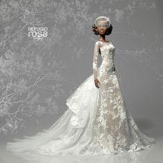 Custom Made Dress for Miss Barbie ACBE Andalucia 2014