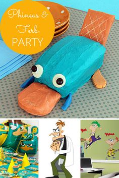 Phineas and Ferb Party Ideas   WebNuggetz.com