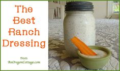 There may be a lot of Ranch recipes out there, but this really is the Best Ranch Dressing, kid-tested and approved!