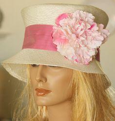 Derby Day, Church Hats, Kentucky Derby Hats, Summer Hats, Creamy White, Hat Making, Headpieces, Tea Time, Headbands