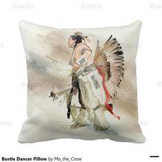Bustle Dancer Pillow