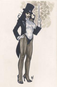 Zatanna by AdamHughes.deviantart.com on @deviantART