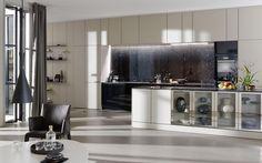 Moderne keuken met greep SE 8008 LM   SieMatic.nl