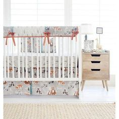 Navy And Orange Woodland 3 Piece Crib Bedding Set . Navy And Gray Woodland Crib Skirt Box Pleat Carousel Designs. Mint And Gray Baby Woodland Crib Bedding Carousel Designs. Home and Family Baby Crib Sets, Baby Bedding Sets, Baby Cribs, Crib Bedding Boy, Crib Sheets, Baby Sheets, Crib Mattress, Woodland Baby Bedding, Woodland Nursery