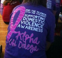 domestic violence awareness, AXO