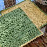 20 *free* dishcloth patterns, from TipNut   . . . .   ღTrish W ~ http://www.pinterest.com/trishw/  . . . .   #crochet #dishcloth