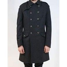 Mens Extended Overcoat - Jeanz T