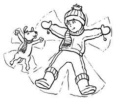 Pingu winter coloring page Cartoon Pingu Pinterest Afghans