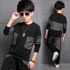 $18.65 (Buy here: https://alitems.com/g/1e8d114494ebda23ff8b16525dc3e8/?i=5&ulp=https%3A%2F%2Fwww.aliexpress.com%2Fitem%2FThe-new-2016-children-sports-leisure-long-sleeved-suit-boys-collar-cotton-stitching-clothing-set%2F32723245907.html ) The new 2016 children sports leisure long-sleeved suit boys collar cotton stitching clothing set for just $18.65
