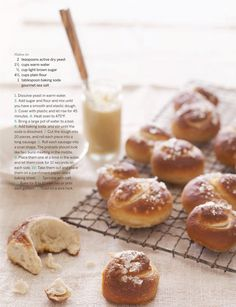 Use my  make a mix recipe and form the pretzels like this.. who need a fun shaped pretzel anyways