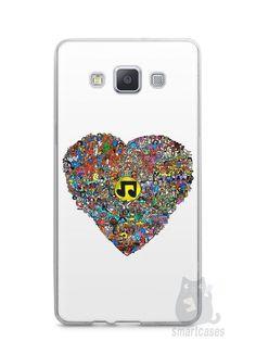 Capa Samsung A5 Coração Personagens - SmartCases - Acessórios para celulares e tablets