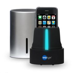 Violight   UV Cell phone Sanitizer for iPhones, iPods, earbuds, Bluetooth headsets and more!
