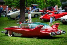 """The 1960 DiDia 150 custom-designed handmade car also known as the """"Dream Car"""" - forever associated with its second owner, singer Bobby Darin."""