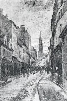 La Grande Rue à Argenteuil (C Monet - W 344),1874.
