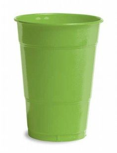 Fresh Lime Plastic Cups 16oz Solid 240ct by Creative Converting. $38.28. Bulk by the Case, Fresh Lime Plastic Cups 16oz Solid 240ct. For each case you will receive 12 individual packages that contain 20ea. Great for large Birthday Parties, Church Events, Sporting Events, Company Parties, Charity Events and more! You save big when you buy by the case!