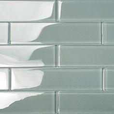Shop For Loft Aspen Aura 2x8 Polished Glass Tiles at TileBar.com