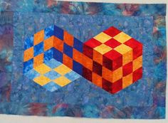 Quilt illusions | Art / Illusions quilt #quilt #quilts
