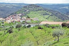 The village of Castelo Melhor in the Upper Douro with its ruined castle on top of the hill E Journals, Restaurant Specials, South African Wine, Wine Education, New View, Portugal, Road Trip, Spain, Castle