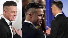 If you've seen the new movie Fury, you would have noticed Brad Pitt's striking haircut. The cut is a military variation of the SS cut.
