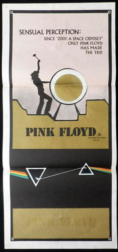 Rare Pink Floyd Posters | PINK FLOYD Sensual Perception RARE Daybill Movie poster - PINK FLOYD ...