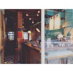 """""""escape LODGE and ESPRESSO"""" Osaka/Kitahama   大阪北浜エリアに佇む絵になるカフェ  店内奥のテーブル席で美味しいコーヒーとこだわりのパニーニを  素敵すぎる空間と音楽  涼しい夏の夜にはカウンターでお酒を楽しんでみたいな  #cafe #bar #coffee #espresso #panini #counter #lodge #wood #antique #interior #interiordesign #espressomachine #coffeecup #light #stool #cityboy #카페 #커피 #인테리어 #カフェ #バー #コーヒー #インテリア http://ift.tt/1VbgBi2"""