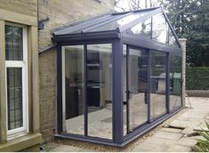 Garden room decking From - gardenroom Modern Conservatory, Conservatory Extension, Glass Conservatory, Conservatory Interiors, House Extension Design, Glass Extension, Garden Room Extensions, House Extensions, Glass Porch