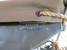 American Bantam Car Company in World War Two / WWII