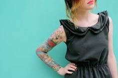 My dream is to have a full sleeve, or maybe just half!
