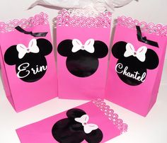 Minnie Mouse Favor Bag