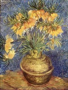 Yellow Flowers by Vincent Van Gogh Fine Art Print