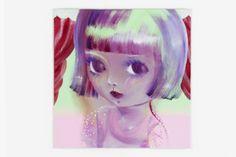 Katja Tukiainen, Violet, Oil on canvas Candy Art, Eye Candy, Oil On Canvas, Disney Characters, Fictional Characters, Eyes, Disney Princess, Artist, Inspiration