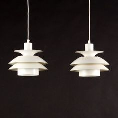 Located using retrostart.com > Ph Style Hanging Lamp by Unknown Designer for Unknown Manufacturer