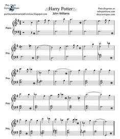 Harry Potter Sheet music for easy piano by John Williams. Harry Potter theme music score for piano begginers, soundrack theme Easy Sheet Music, Flute Sheet Music, Violin Music, Music Sheets, Piano Music Easy, Sheet Music For Piano, Cello, Piano Sheet Music Beginner, Free Sheet Music