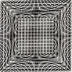 Richard Anuszkiewicz, Visible State, 1966, 24 x 24 inches, acrylic on canvas