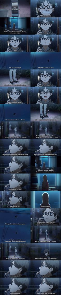 Shigatsu wa kimi no uso, Your Lie in April, Kaori, Kousei this is so cute :3 and funny!!!