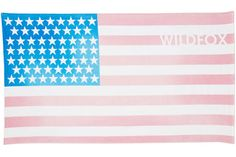 Go Bold with Summer's Best Beach Towels like this patriotic one from Wildfox