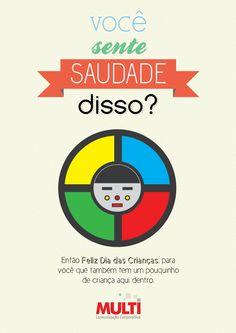 Campanha Dia das Crianças Multi 2012 by João Lima, via Behance - Redes Sociais