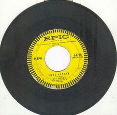 """Sal Mineo 45 rpm """"Love Affair"""" b/w """"Start Movin"""""""
