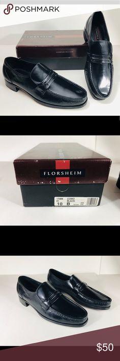 696c30f11ef754 Mens Florsheim Como Slip On US 10 17089-01 W Box Mens Florsheim Como