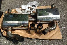 Meisterschaft GT Race Axle-back Exhaust - non titanium with 2x90mm round split tips