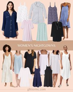 Everyone is rather loyal to their preferred pajamas, and yet, one sleepwear trend that seems to be be practically taking over is the nightgown. Every woman is talking about them. And really, what's not to love?