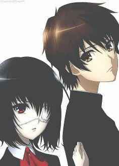 Mei Misaki & Kouichi Sakakibara. I swear no other perfect couple exists.