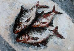 http://ogelko.culturalspot.org/exhibit/experiencing-ordinariness/qAISNZdDBlUfJQ?position=10%3A0 FISH FAMILY Acrylic on canvas, 2014 100x70 cm