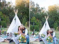 Bohemian Wedding Inspiration from Joni Lynn Photography