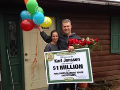 Congratulations to yesterday's $1 Million winner, Karl Jonsson of Gresham, WI! Leave a congratulatory message in the comments below! #PCH