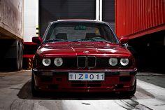BMW e30 325i M-tech I by Stefán Freyr | Skyzography, via Flickr