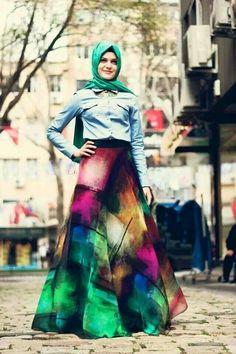 Z style Muslimah fashion style
