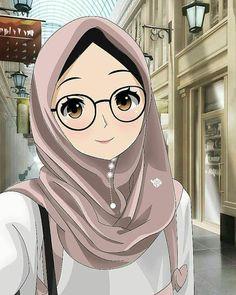 This domain may be for sale! Anime Neko, Kawaii Anime Girl, Anime Art Girl, Bff Drawings, Cartoon Drawings, Hijab Drawing, Islamic Cartoon, Hijab Cartoon, Cute Girl Wallpaper