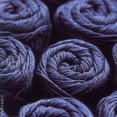 blue indigo yarn skeins